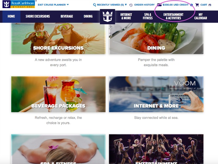 My Tips for Using the Royal Caribbean Cruise Planner
