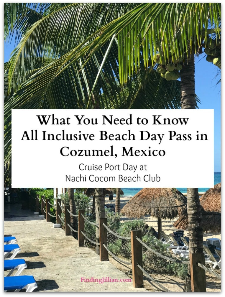 Relaxing All Inclusive Beach Day Pass - Nachi Cocom Beach Club in